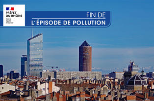 Fin de l'épisode de pollution aux particules fines