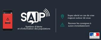 SAIP : une application d'alerte et d'information des populations
